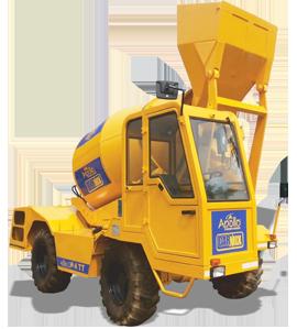 Self Loading Concrete Mixter