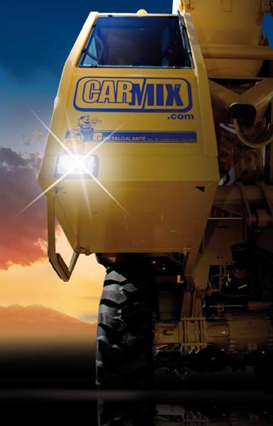 Carmix 4 215 4 Self Loading Concrete Mixers Apollo Carmix