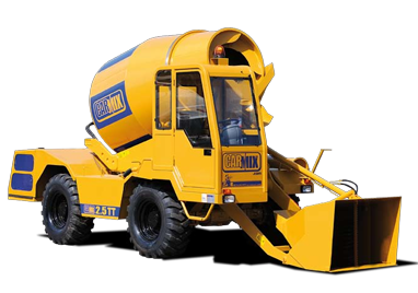 CARMIX 4×4 Self-Loading Concrete Mixer.