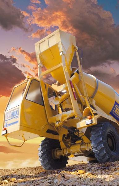 Carmix 5 5 Xl Self Loading Concrete Mixer Apollo Carmix