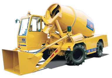 Carmix 5.5 XL Self Loading Concrete Mixer.